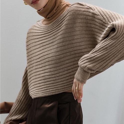 MZINGRIDZHOP   20% Angola Fabric Jumper in Stripe