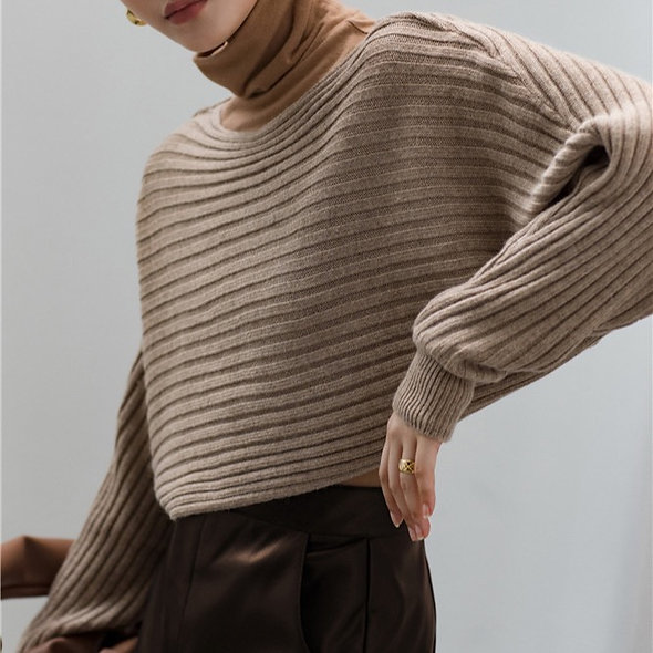 MZINGRIDZHOP | 20% Angola Fabric Jumper in Stripe