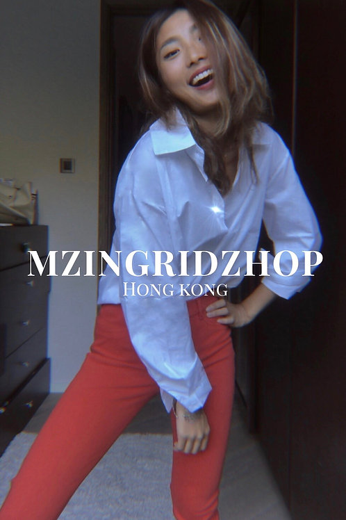 MZINGRIDZHOP | SUPERchic Long Sleeve Shirt in Off White
