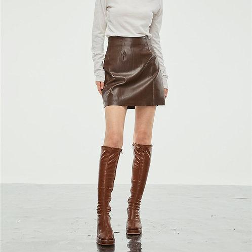 MZINGRIDZHOP | Brownish Skirt