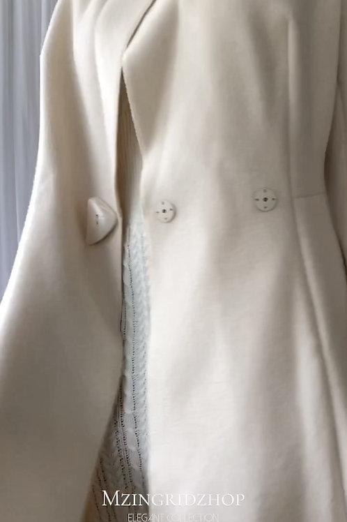 MZINGRIDZHOP   65% Wool Classy Coat