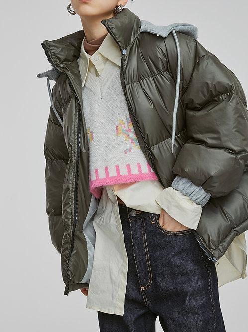 MZINGRIDZHOP | SweaterHat Versatile Warm Coat (Adjustable Tightness of Hat)