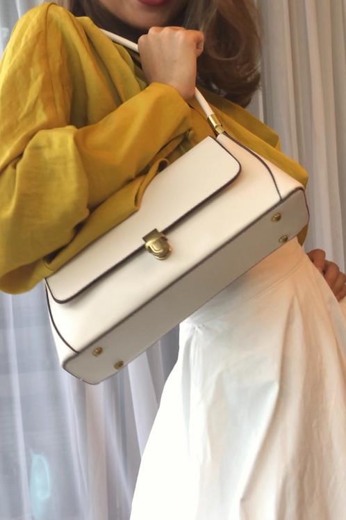 MZINGRIDZHOP | Causal Wear Bag in White