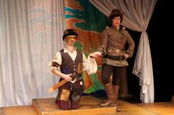 Beatrice and Truffaldino