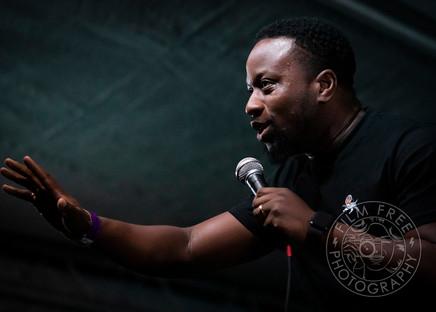 Babatunde Aleshe @ The Garden Gatherings Comedy Gala