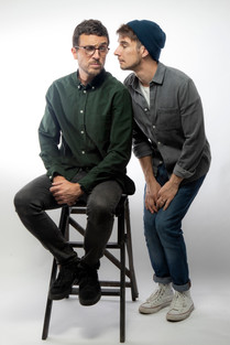 Ross and John - Promo shot for their show on Essex Radio