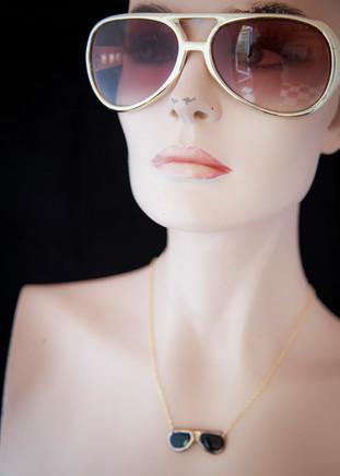 Elvis Inspired Necklace - Karen Hamer Pottery