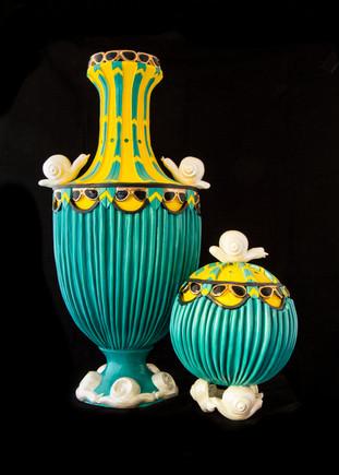 Graceland Inspired Pots  - Karen Hamer Pottery