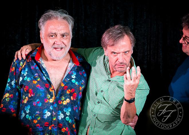 Tony Slattery & Richard Vranch