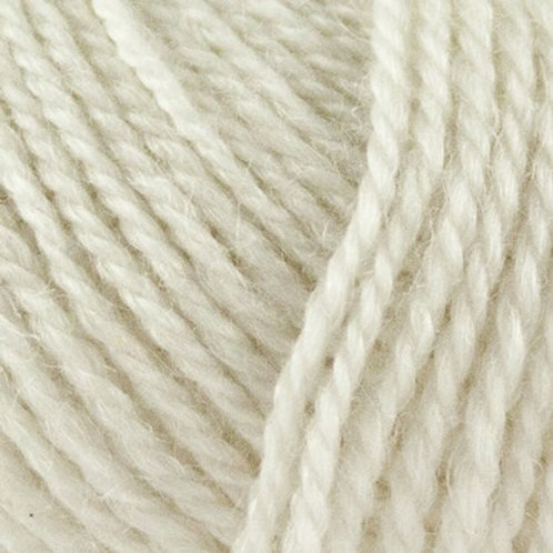 No.3 Wool+Nettles- Råhvid