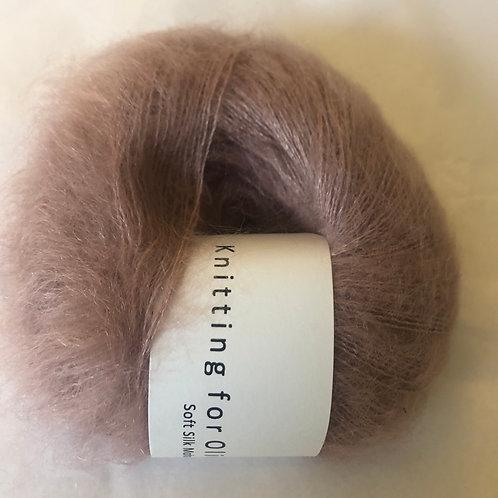 Soft Silk Mohair -Gammelrosa