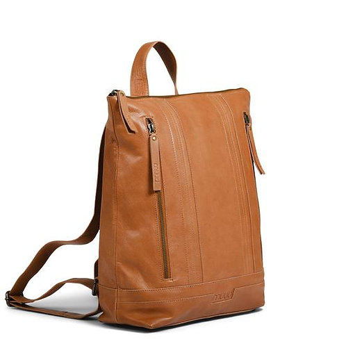 Håndlavet læder rygsæk - Nyköbing