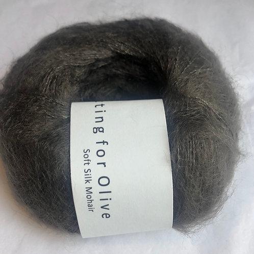 Soft Silk Mohair -Mørk elg