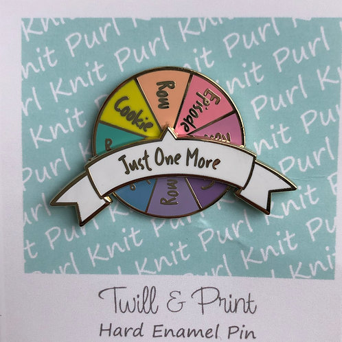 Spinner Pin - Just one more