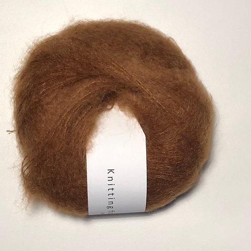 Soft Silk Mohair - Okkerbrun
