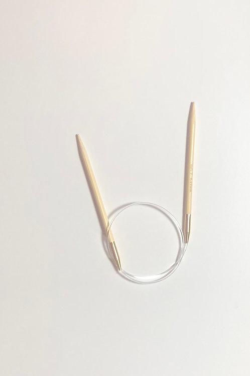 Rundpind i bambus fra Seeknit 6mm