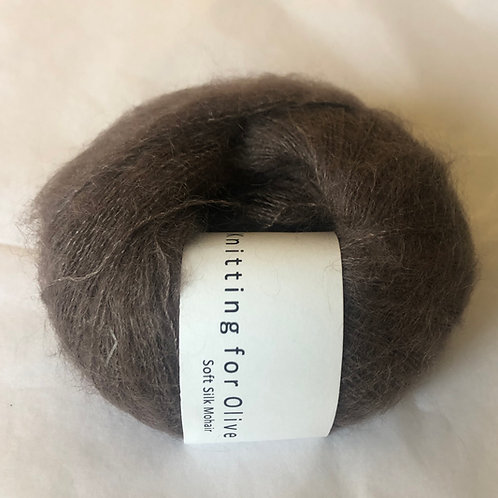 Soft Silk Mohair -Blomme-ler