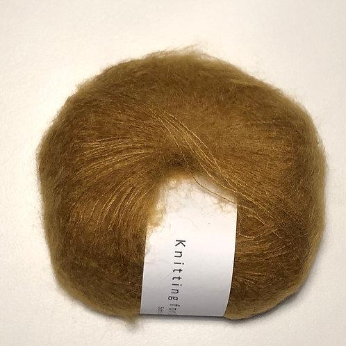 Soft Silk Mohair - Mørk Sennep