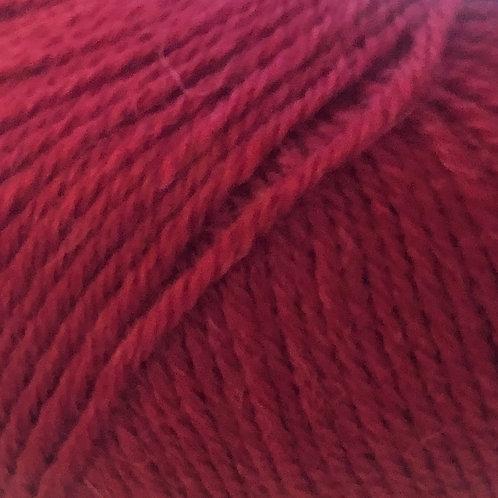 Pura Lana 330 dyb rød