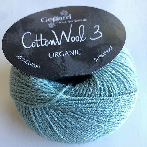Cotton wool 3 726 lys aqua