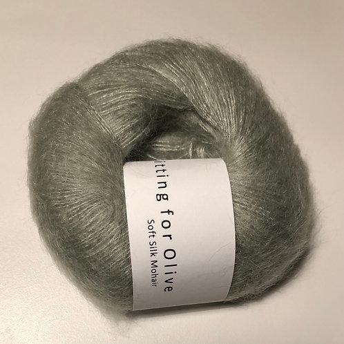 Soft Silk Mohair -Støvet Artiskok