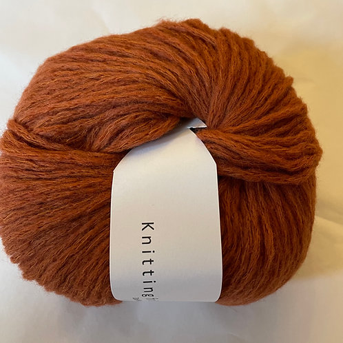 Double soft Merino Rust