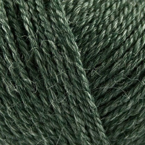 No.3 Wool+Nettles - 1106 Flaskegrøn