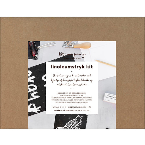 Linoleumstryk kit