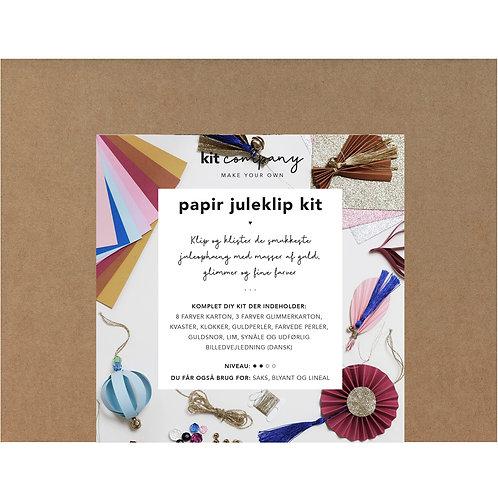 Papir Juleklip Kit