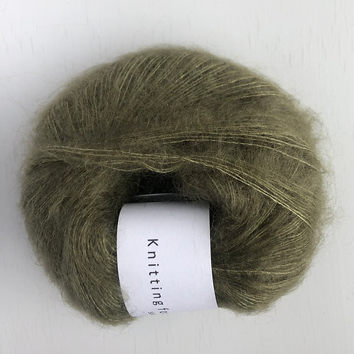 Soft Silk Mohair - Oliven