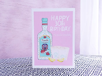 30th birthday card day of the dead.jpg