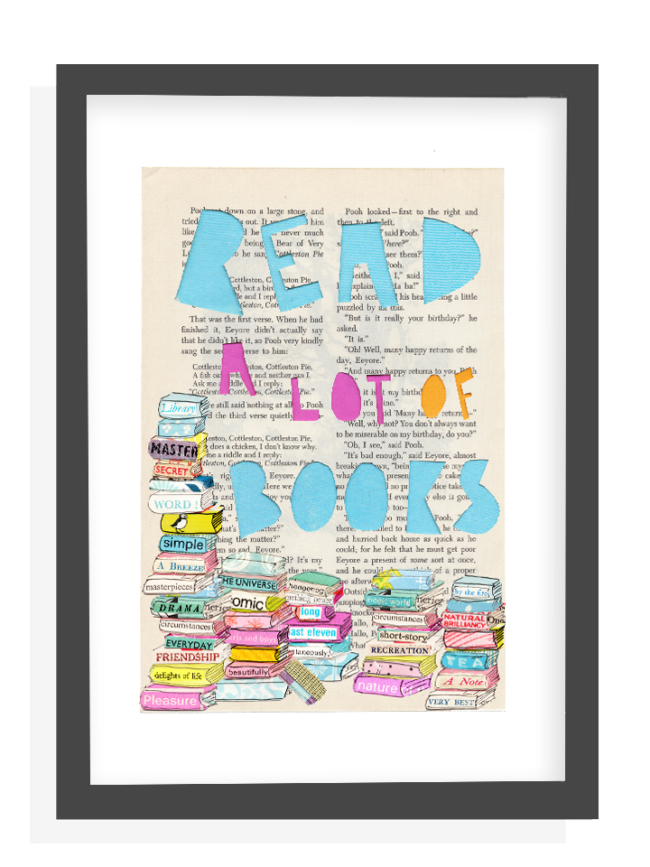 Read a lot of books Printable