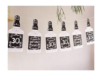 jack daniels 30th boyfriend decorations