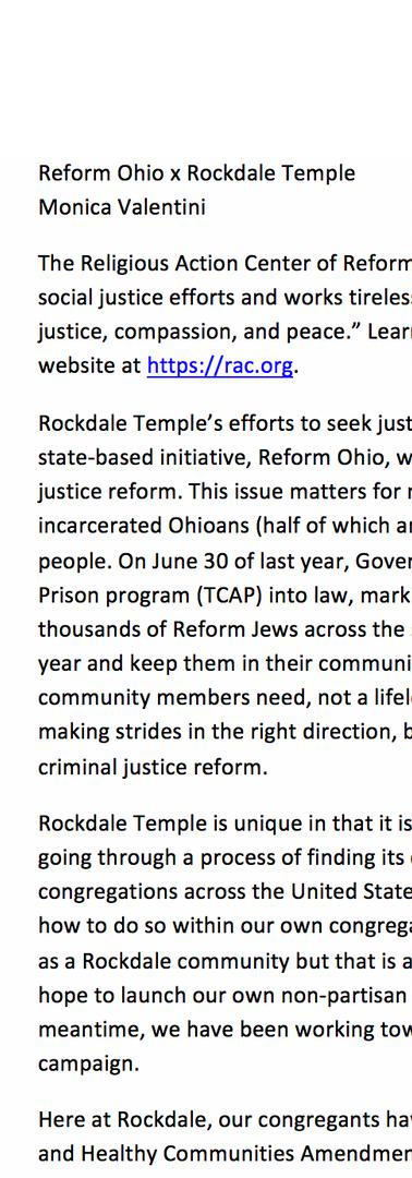 Reform Ohio x Rockdale