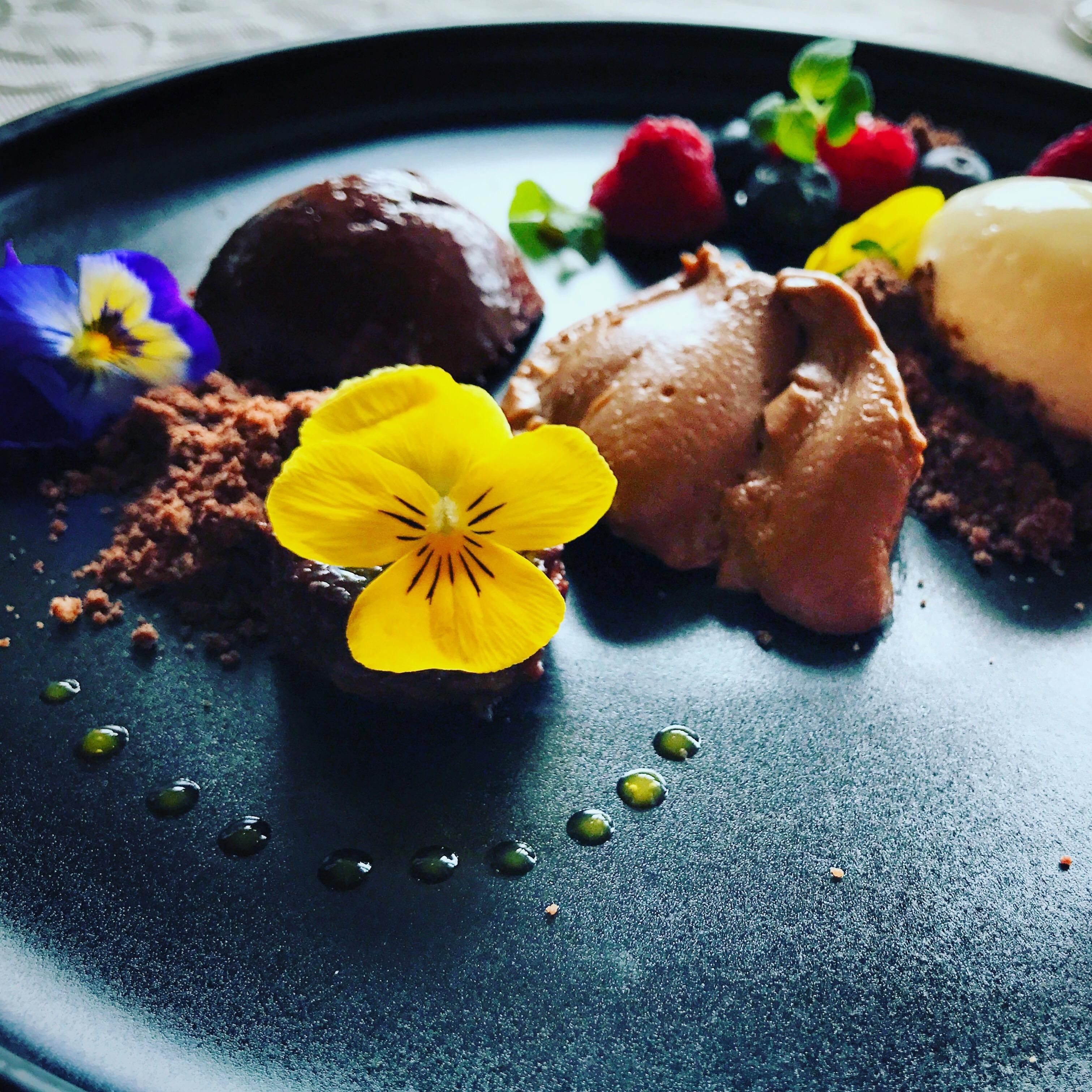 Flower Dessert