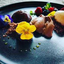 Blumen Dessert