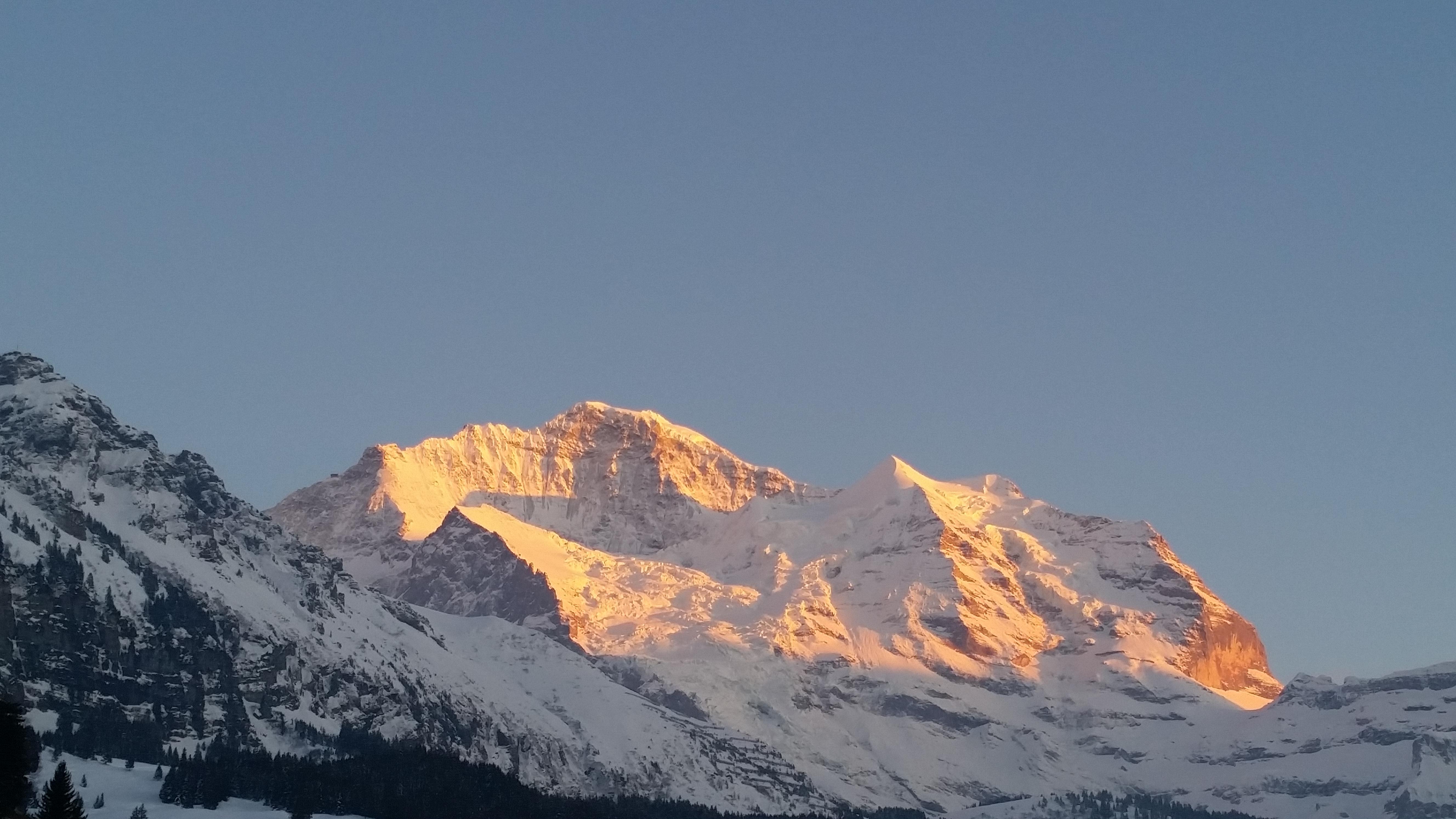 Jungfrau Sunset
