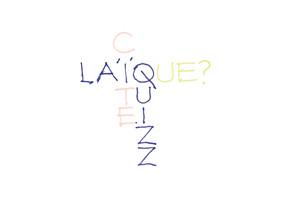 Laïquizz – dessin