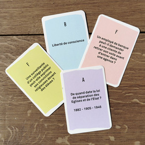 Laïquizz – cartes recto