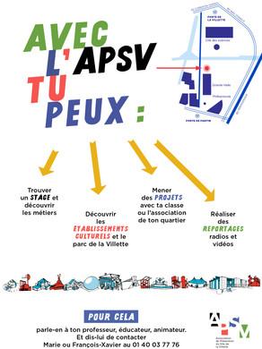APSV flyer informatif
