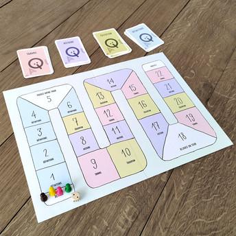 Laïquizz – plateau et cartes