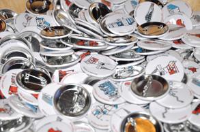 Parcouir la Villette - badges