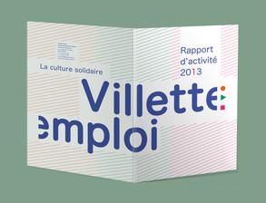Villette emploi — rapport d'activité