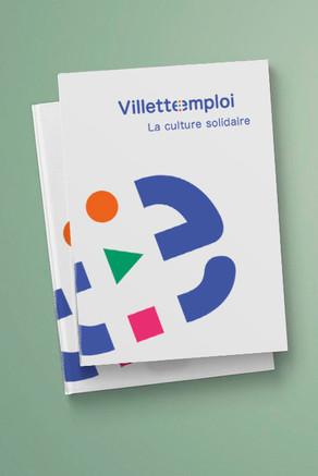 Villette emploi — brochure