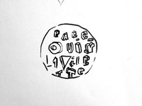 dessin logotype Parcouir la Villette