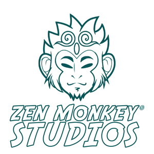 Zen Monkey Studios creates high quality collectible accessories (including pins, patches, and keychains), shirts, and prints. Comprised of fans and artists, we put emphasis on quality and beautiful original artwork and design for cartoons, anime, and sci-fi properties.