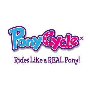 PonyCycle, Inc. is the Original inventor of the PonyCycle ride on toy-----world first simulated walking animal.  Through 18 years of development, manufacturing improvement, riding test and safety test, we have dedicated to create the best walking animal and spread exhilaration to every family. None like other pushing toys, rocking horse or scooter, our pony will definitely give you a real riding experience! Sitting on the saddle, lying legs against the horse and pressing the stirrups then pony starts moving forward with slightly jolt and you can feel that click. Control the pony with your skills as if you and the pony are one body!  Come on, start your urban Western life! PonyCycle product focuses on encouraging kids' imagination and creativity. With PonyCycle toy, children could pretend to be a medieval knight, a western cowboy, an explorer who has just discovered a new continent near your neighborhood or even a wizard riding on a unicorn! We also inspire children to meet more PonyCycle friends and share them with extraordinary adventure stories.