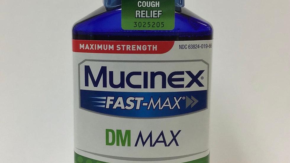 Mucinex Fast-Max DM Cough & Chest Congestion Liquid 6 oz