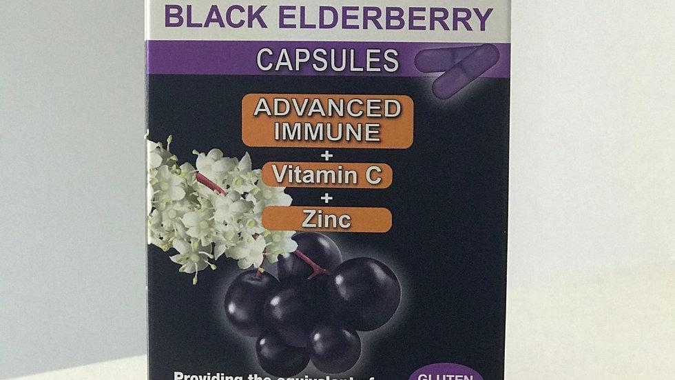 Sambuchol Black Elderberry Advanced Immune 30 Capsules