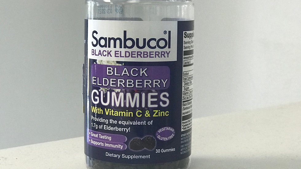 Sambuchol Gummies with Vit C & Zinc